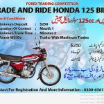 Forex Trading Competition – Trade And Ride – Win Honda 125 Bike In Pakistan